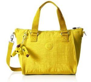 6dbb851b1 Bolso Kipling BARATO Amiel amarillo | Bolsos Baratos Online