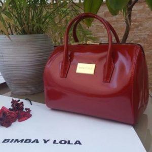 bolso bimba y lola rojo comprar online