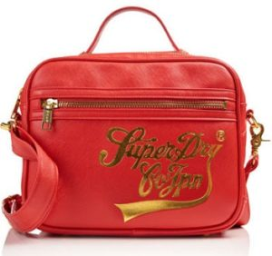 bolso superdry monaco rojo outlet