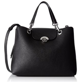 Bolso negro mujer tommy hilfiger