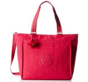 bolso tote kipling rosa barato online