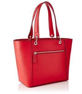 bolso de mano guess color rojo outlet
