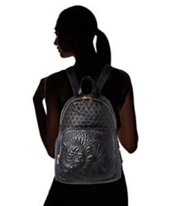 mochila negra desigual comprar online