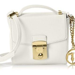 bolso bandolera trussardi blanco comprar online