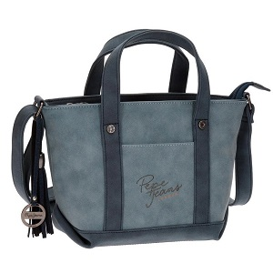 bolso pepe jeans amelia azul outlet
