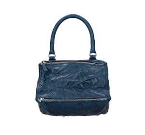 bolso de mano givenchy azul comprar online