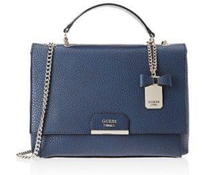 bolso de mano guess azul comprar online