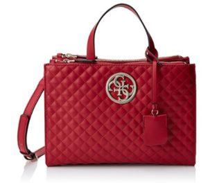 bolso de mano guess rojo comprar online