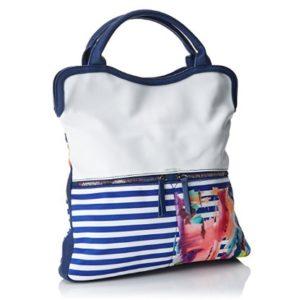 bolso desigual azul comprar online