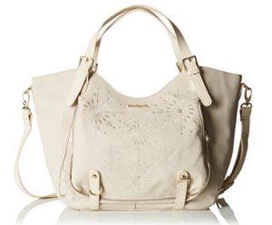 bolso desigual blanco comprar online