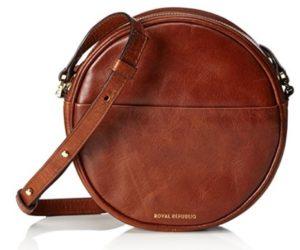 bolso marron redondo barato online