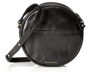 bolso redondo negro comprar online