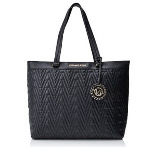 bolso versace jeans mujer negro comprar online