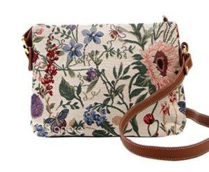 bolsos con flores de tela comprar online baratos