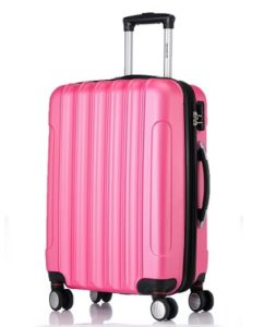 maleta rigida rosa comprar online