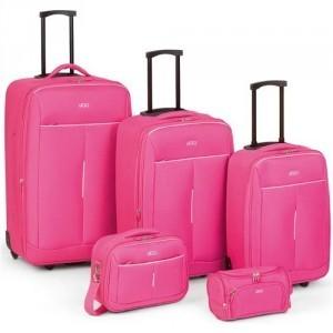 mejores maletas rosas online