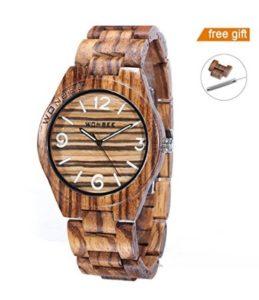 reloj de madera mujer comprar online