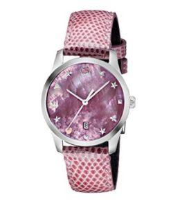 reloj gucci mujer rosa