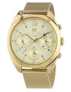 reloj mujer tommy hilfiger chapado en oro comprar online