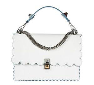 bolso mujer fendi blanco comprar online