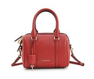 bolso burberry mujer rojo comprar online