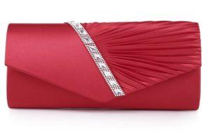 bolso clutch rojo donde comprar online