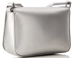 bolso love moschino color plata barato