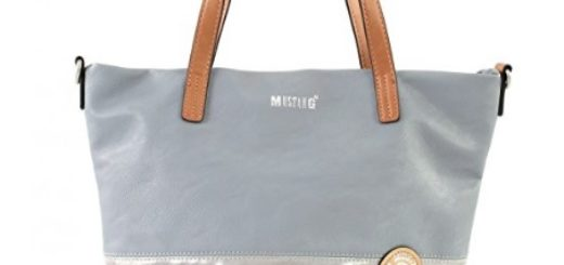 bolso mustang gris comprar online