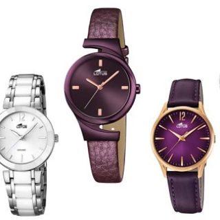 donde comprar relojes lotus mujer baratos online