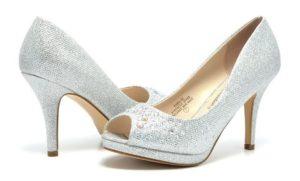 donde comprar zapatos plateados mujer baratos