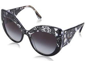 gafas de sol dolce gabanna negras mujer
