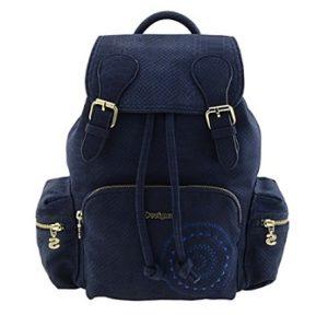 mochila desigual azul comprar online