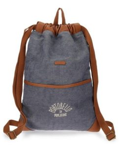 mochila mujer pepe jeans azul comprar online