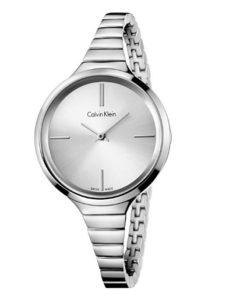 reloj calvin klein mujer plateado comprar barato