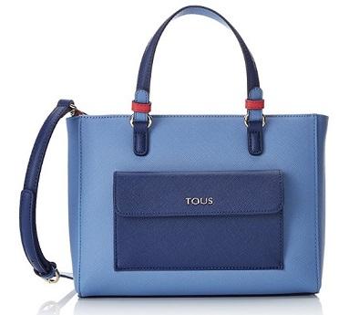bolso bandolera tous essence azul comprar online