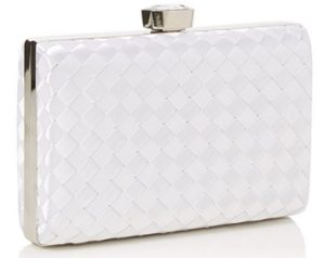 bolso blanco de fiesta quiz outlet