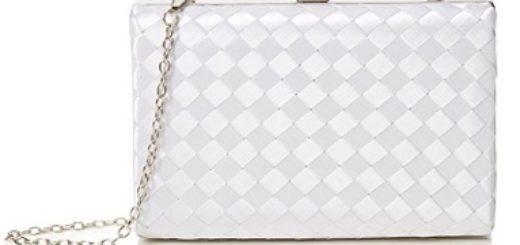 bolso de fiesta quiz blanco barato
