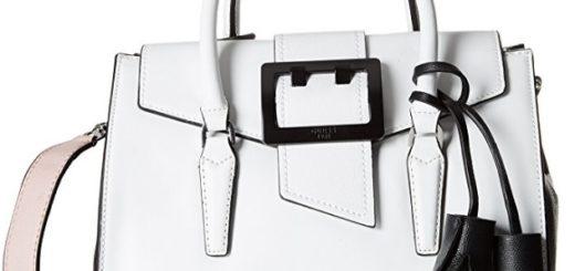 bolso de mano guess blanco comprar online