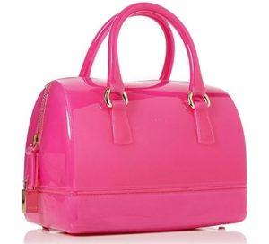 bolso maletin furla rosa barato