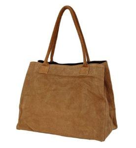 bolso marrón de ante comprar online