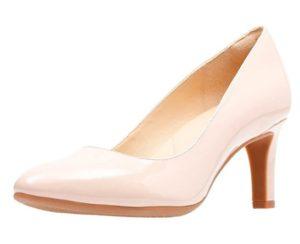 comprar zapatos de tacon clarks rosa baratos