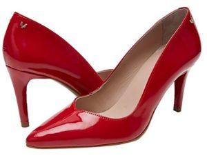 comprar zapatos de tacon martinelli rojos online