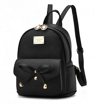donde comprar mochilas de mujer negras online