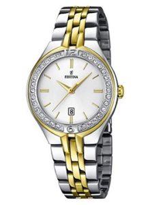 reloj festina mujer de acero barato