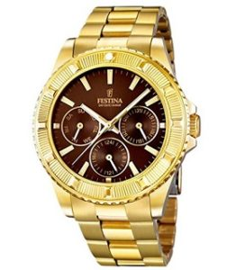 reloj festina mujer de oro comprar online