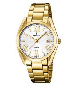 reloj festina mujer dorado comprar online