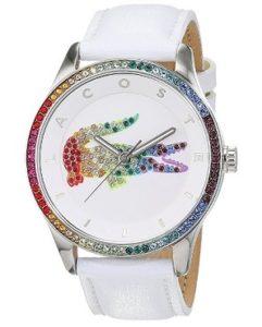 reloj lacoste mujer blanco barato