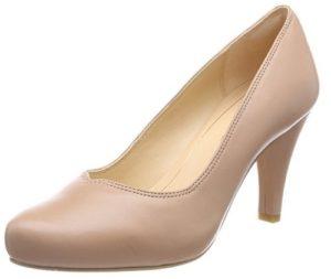 zapatos de tacon clarks beige comprar online