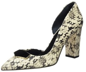 zapatos de tacon martinelli blancos