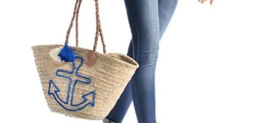 bolso con ancla azul precio barato